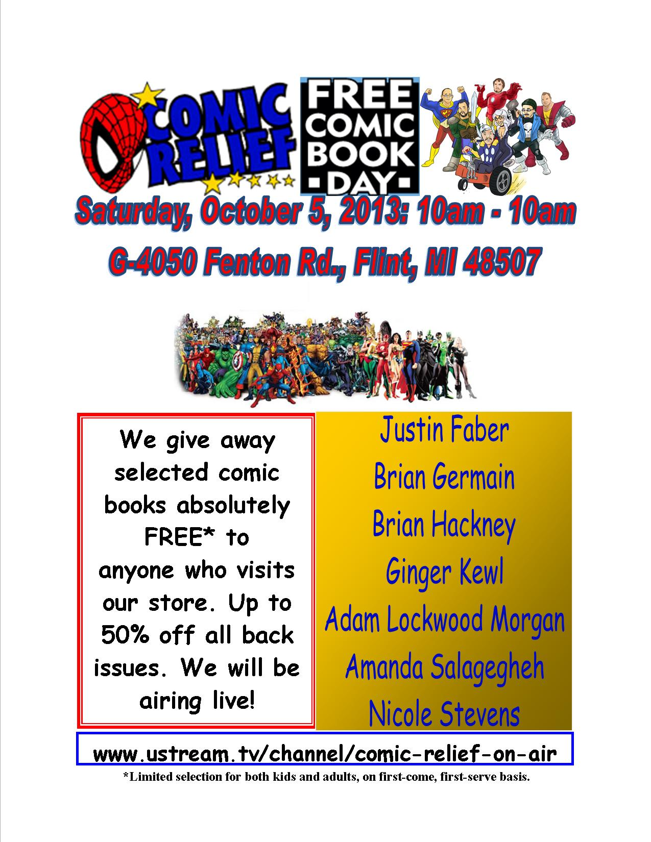 24-Hour Free Comic Book Day 2013